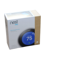 Nest Thermostat 3rd Generation - Stainless Steel